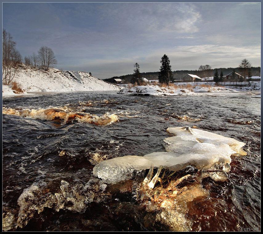 ловля лосося на реке оять